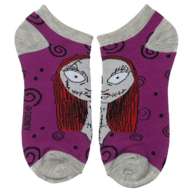 Socks - Disney Nightmare Before Christmas Ankle Size 9-11 5-Pack