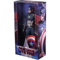Figure - Marvel: Captain America Civil War 1/4 Scale Figure by NECA