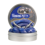 "Thinking Putty - Cosmic Glow™ Holiday Festival of Lights 4"" Tin"