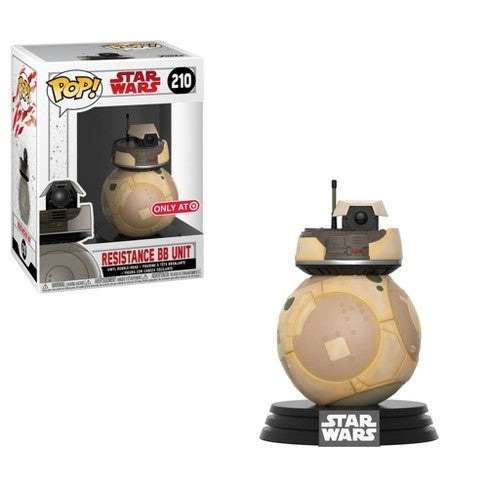 Funko POP! - Star Wars The Force Awakens: Resistance BB Unit #210 [Target Exclusive]