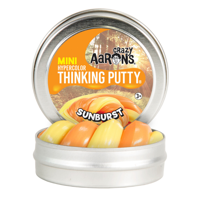 "Thinking Putty - Mini Hypercolor® Sunburst 2"" Tin"
