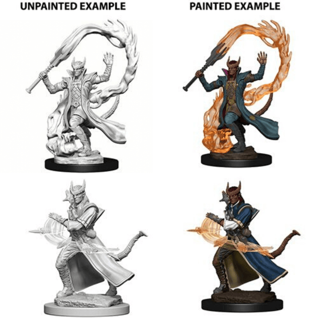 Dungeons & Dragons - Nolzur's Marvelous Unpainted Miniatures: Male Tiefling Sorcerers