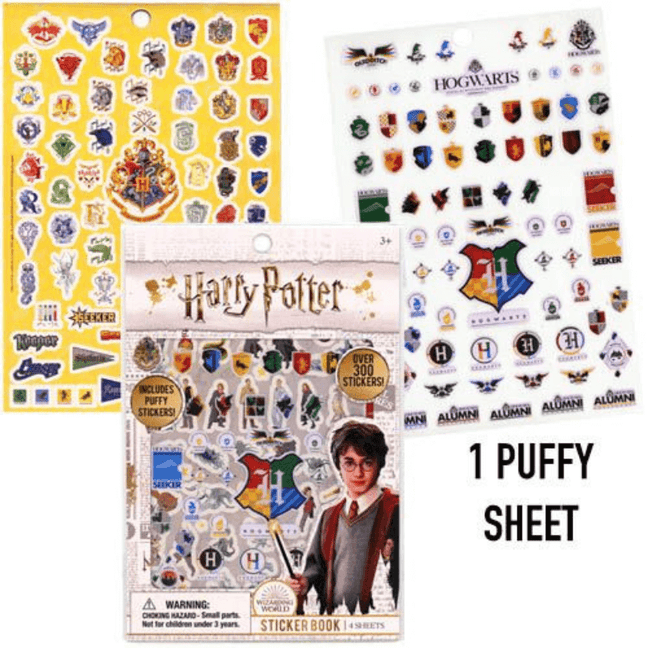 Stickers - Harry Potter Sticker Book with Over 300 Stickers
