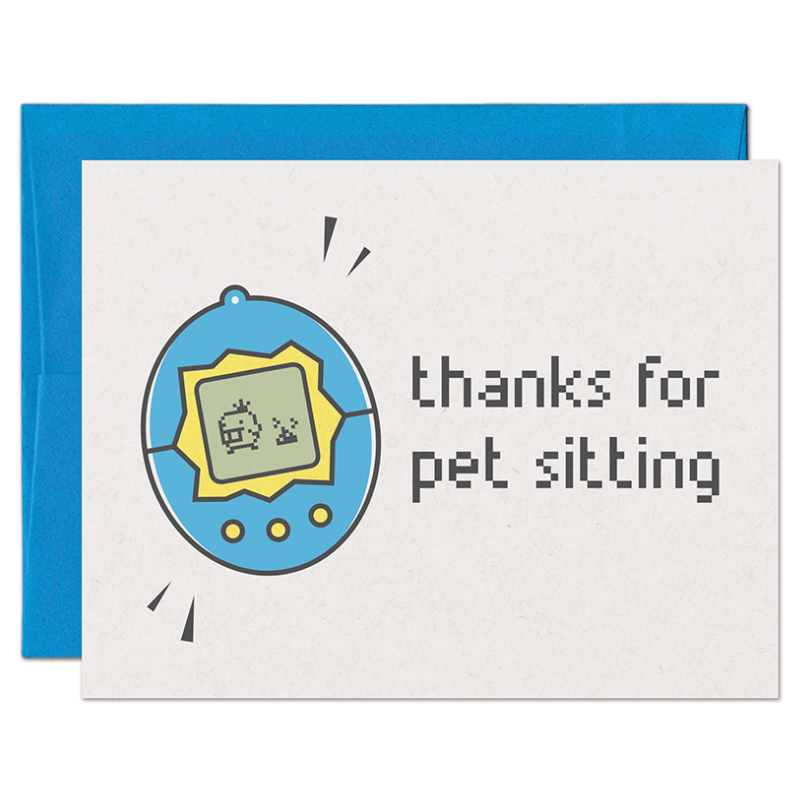 thank you note from dog to pet sitter