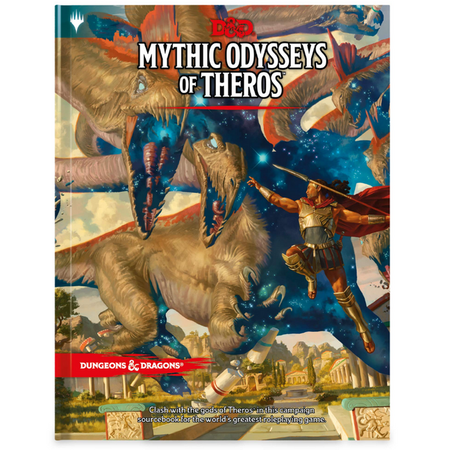 Book - Dungeons and Dragons: Mythic Odysseys of Theros 5E