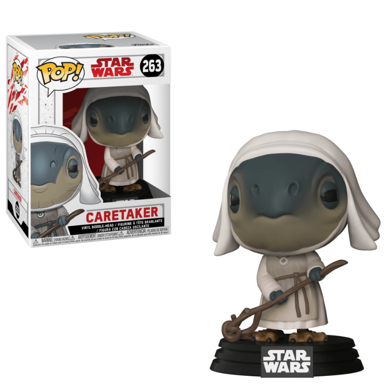 Funko POP! - Star Wars VIII The Last Jedi: Caretaker #263