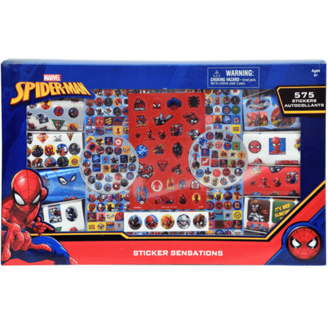 Stickers - Spider-Man Gift Box with 575 Stickers