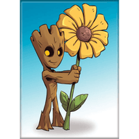 Magnet - Marvel Guardians of the Galaxy: Groot with Sunflower