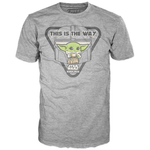 Funko Tee! - Star Wars The Mandalorian: The Child This is the Way with Soup Cup