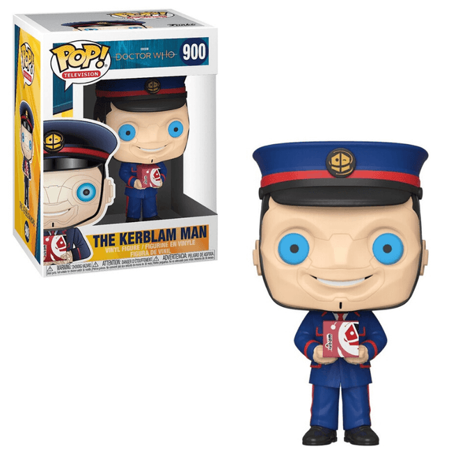 Funko POP! - Doctor Who: The Kerblam Man #900