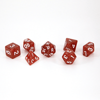 fire themed dice
