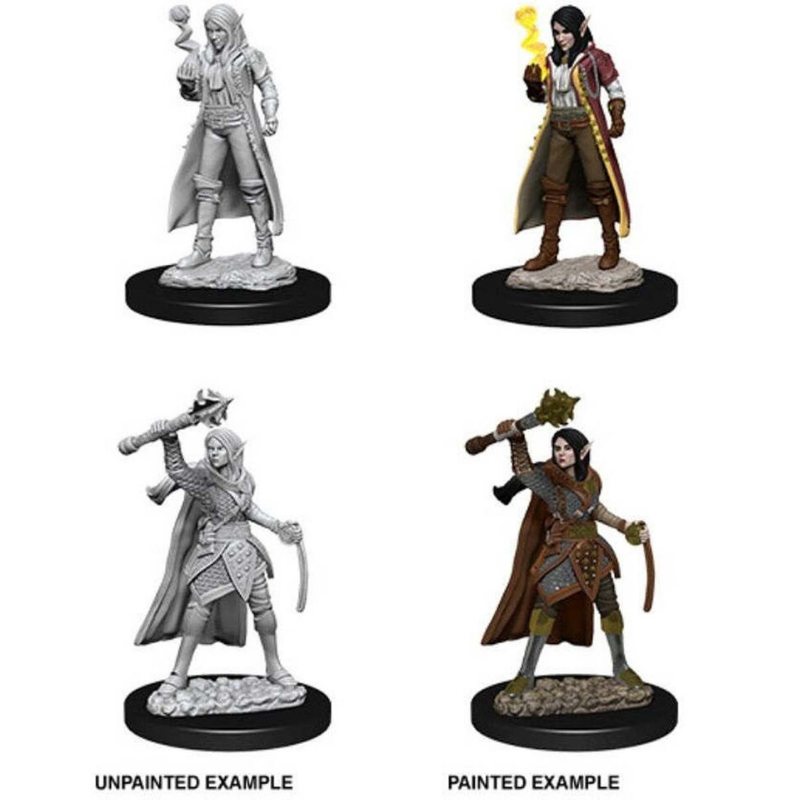 Dungeons & Dragons - Nolzur's Marvelous Unpainted Miniatures: Female Elf Cleric