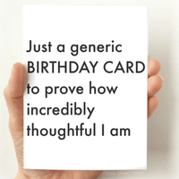 debbie draws funny just a generic birthday card messages