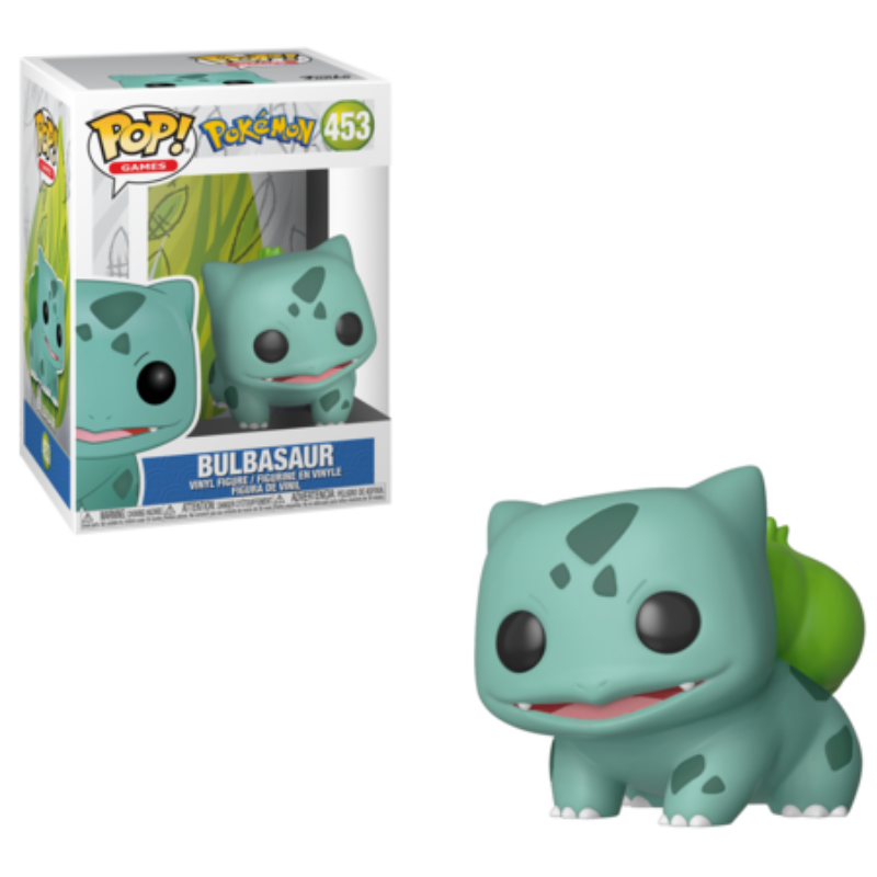Funko POP! - Pokemon: Bulbasaur #453