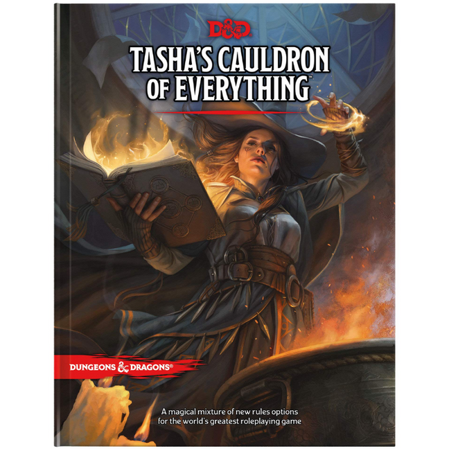 Book - Dungeons and Dragons: Tasha's Cauldron of Everything Rules Expansion
