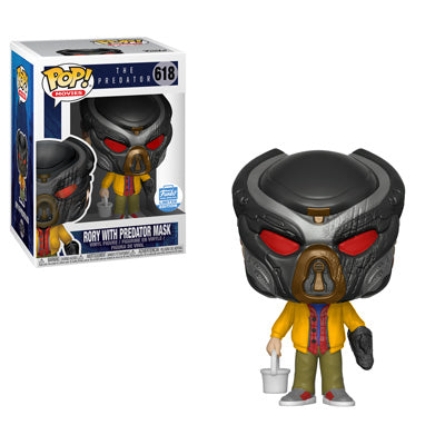 funko pop rory with predator mask
