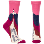 Women's Crew Socks - Heading to My Next Mistake