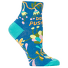 Women's Ankle Socks - Don't Push Me