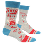 Socks - Men's Crew: Video Game... Game On... And On... And On...