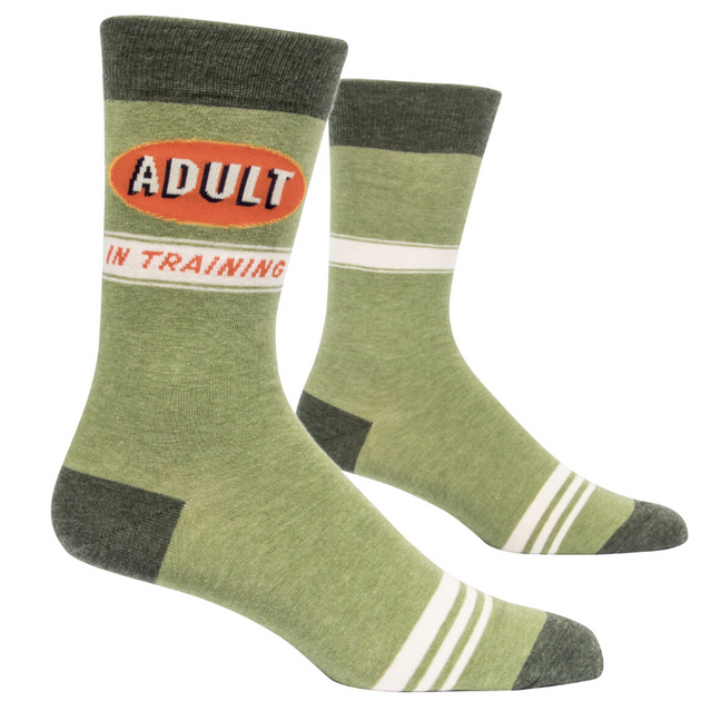 Socks - Men's Crew: Adult in Training