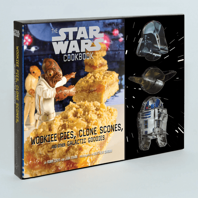 Book - The Star Wars Cookbook: Wookiee Pies, Clone Scones, and Other Galactic Goodies