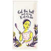 sweary dish towels