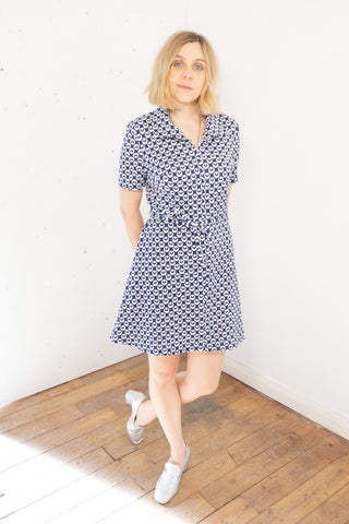 Vintage Blue Dress Mini