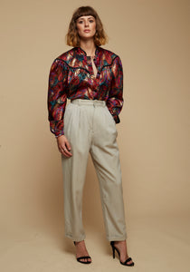 Heather - High Waisted Trousers - Staying Alive Vintage