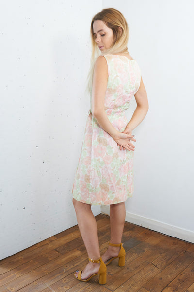 Strawberry Shortcake Vintage 60's Summer Dress in pink and Green - Staying Alive Vintage