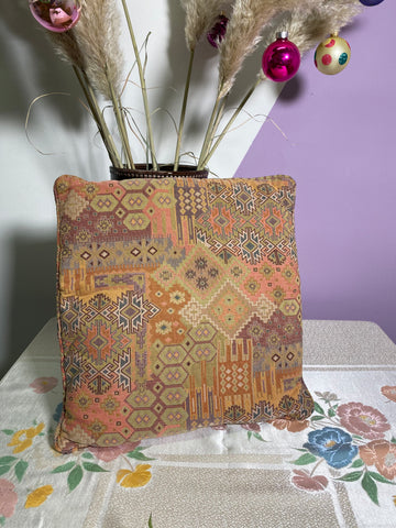 Lola - Vintage Geometric Cushion