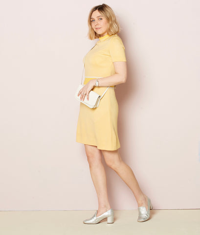 Raye - Vintage Tennis Yellow Dress - Staying Alive Vintage