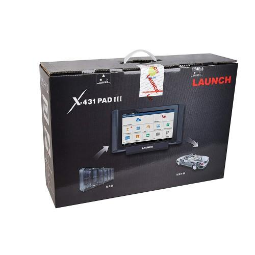 LAUNCH X-431 PAD III + LAUNCH TWT-100 TOOL TROLLEY COMBO