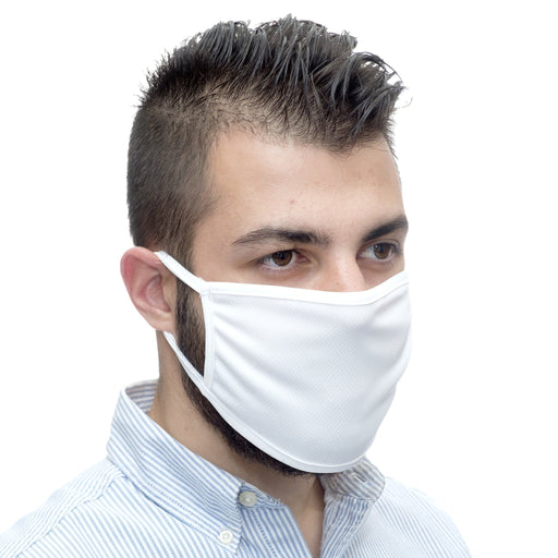 ANTIMICROBIAL REUSABLE MASK - WHITE