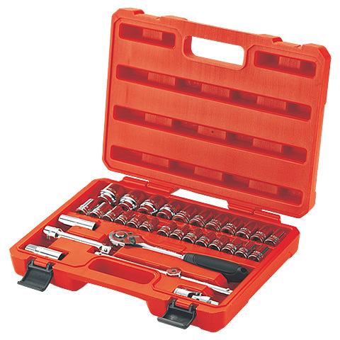BESITA 6105 32 PCS 12.5MM METRIC 12-PT SOCKET SET