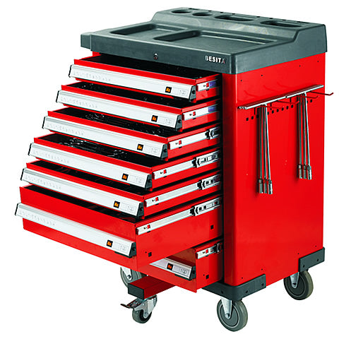 BESITA 6699 365 PCS SUPER TOOL TROLLEY SET (5 WHEEL)