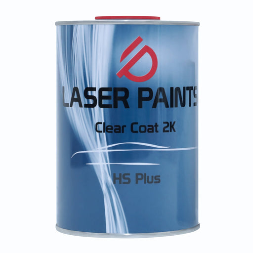 LASER PAINTS CLEARCOAT 2K HS PLUS CLEAR COAT FOR CAR REPAIR