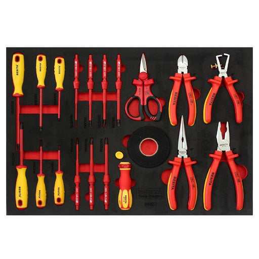 BESITA 6692C 19 PCS INSULATED PLIERS SCREWDRIVER SET