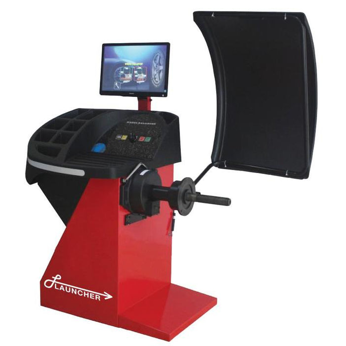 LAUNCHER LCH-TC004H TIRE CHANGER + LAUNCHER LCH-WB014 WHEEL BALANCER