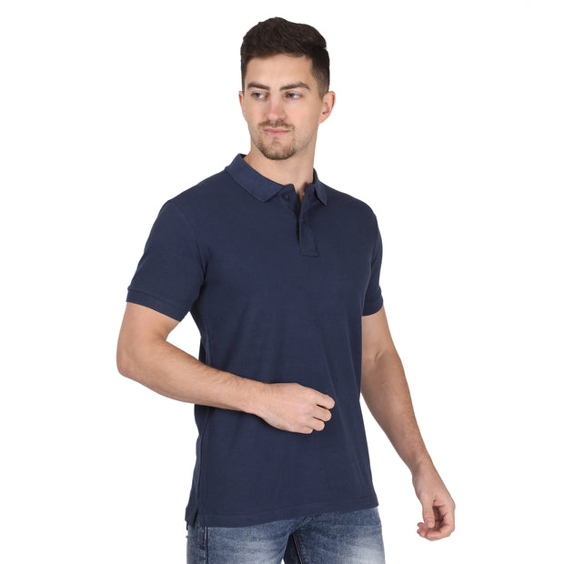 Navy Blue Polo Somefits