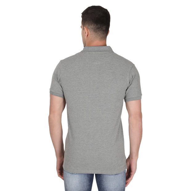 Grey POLO T-shirt Somefits