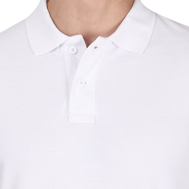 White POLO T-shirt Somefits
