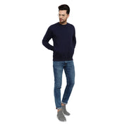 Plain Navy Sweatshirt