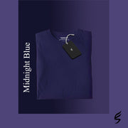 Plain midnight blue Somefits t-shirt.jpg