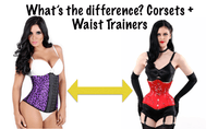 The Difference Between Corsets and Waist Trainers (Picture Chart)