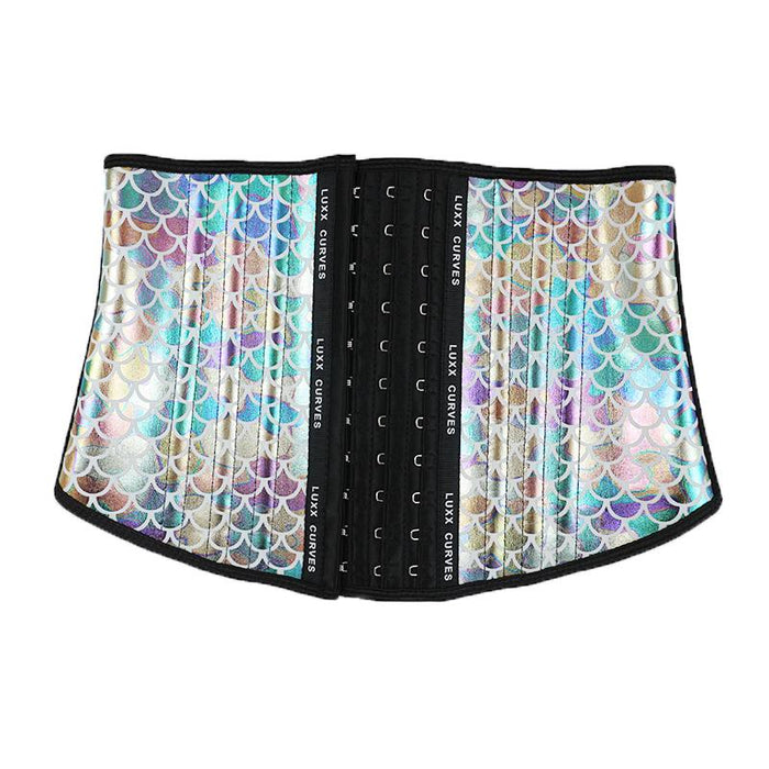 Short Torso Waist Trainer 9″ - Patterns Traditional Waist Trainer LuxxHealth Mermaid 3XS