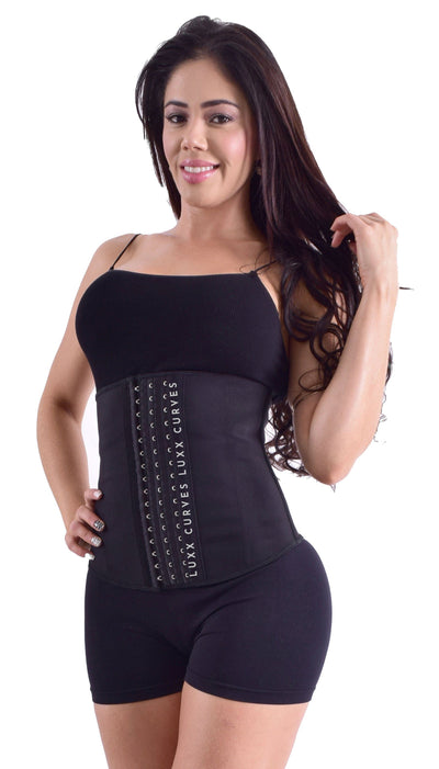 Long Torso Waist Trainer 13.5″ - Solid Colors Traditional Waist Trainer LuxxHealth