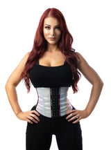 Long Torso Waist Trainer 13.5″ - Pattern Colors Traditional Waist Trainer LuxxHealth