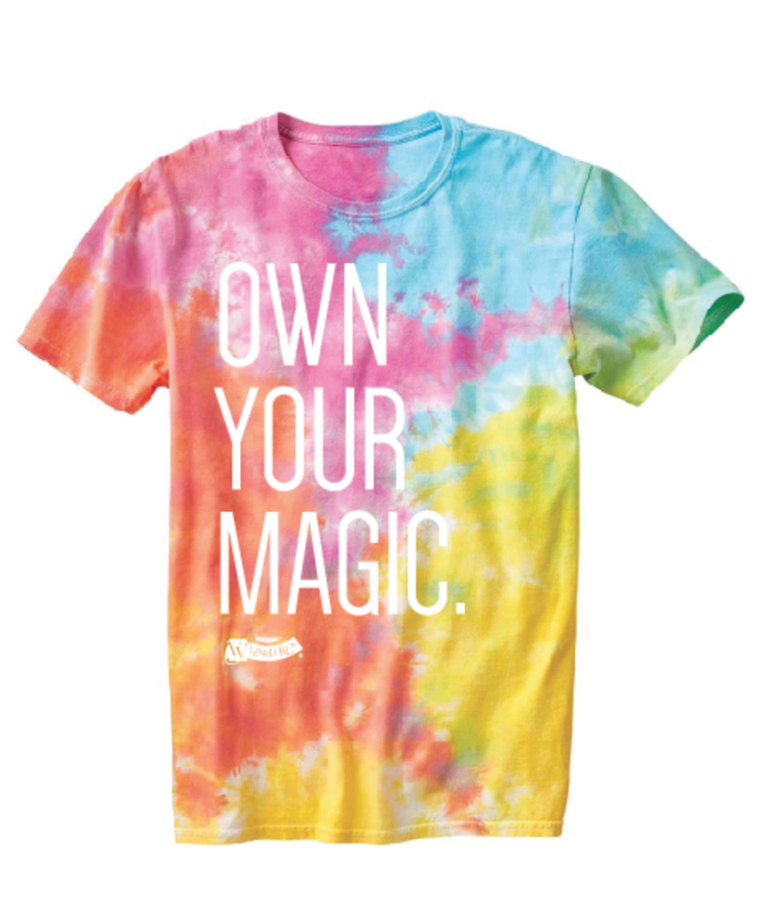 Own Your Magic Tie-Dye Tee