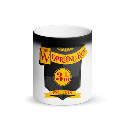 Matte Black Magic Wizard Run Mug