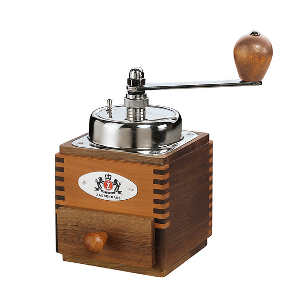 Zassenhauscm Coffee Mill Montevideo10cm Walnut/Pear